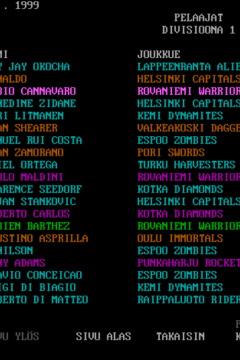Futis - Jalkapallomanagerointi MS-DOS Freeware